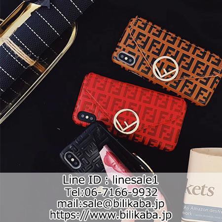 huge selection of 62d0c 71e0e フェンディ iphoneXケース 財布型 FENDI iPhone8/8plusケース ...