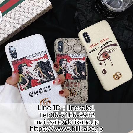 purchase cheap ecf27 5a6e9 GUCCI iPhoneX ケース ディズニー グッチ iPhone8/7plus カバー ...