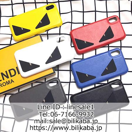 big sale 733f1 0330e フェンディ FENDI アイフォンXケース 可愛い iPhone8 iPhone7 ...